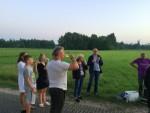 Spectaculaire ballonvaart opgestegen op startlocatie Asten dinsdag 5 juni 2018