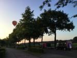 Verrassende luchtballonvaart opgestegen op opstijglocatie Asten dinsdag 5 juni 2018