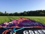 Uitmuntende luchtballonvaart gestart in Beesd dinsdag 5 juni 2018