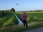 Comfortabele ballonvlucht in de omgeving van Horst dinsdag 5 juni 2018