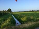 Fascinerende ballon vaart in Horst dinsdag 5 juni 2018