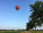Hoogstaande heteluchtballonvaart boven de regio Horst dinsdag 5 juni 2018