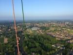 Mooie heteluchtballonvaart startlocatie Horst dinsdag 5 juni 2018