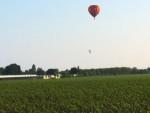 Feestelijke ballon vlucht startlocatie Horst dinsdag 5 juni 2018