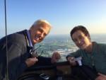 Buitengewone heteluchtballonvaart gestart in Hengelo dinsdag  5 juni 2018