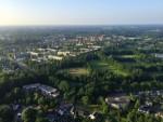 Mooie luchtballon vaart omgeving Hengelo dinsdag  5 juni 2018
