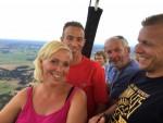 Prettige ballonvlucht opgestegen in Steenwijk op dinsdag  7 augustus 2018