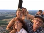 Uitstekende ballon vaart vanaf startlocatie Steenwijk op dinsdag  7 augustus 2018