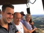 Formidabele heteluchtballonvaart in de regio Steenwijk op dinsdag  7 augustus 2018