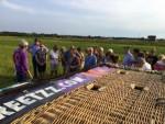 Spectaculaire ballonvlucht opgestegen op opstijglocatie Steenwijk op dinsdag  7 augustus 2018