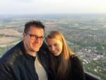 Fenomenale ballon vlucht regio Wijchen op dinsdag 7 mei 2019