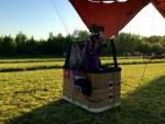 Overweldigende ballon vlucht gestart in Beesd dinsdag  8 mei 2018