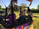 Weergaloze ballonvlucht over de regio Beesd dinsdag  8 mei 2018