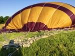 Professionele luchtballon vaart in de regio Beesd dinsdag  8 mei 2018