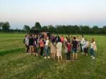 Unieke luchtballonvaart startlocatie Beesd dinsdag  8 mei 2018
