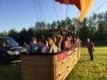 Weergaloze ballonvaart vanaf opstijglocatie Beesd dinsdag  8 mei 2018