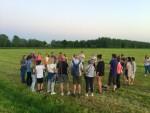 Jaloersmakende ballonvlucht startlocatie Beesd dinsdag  8 mei 2018