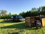 Mooie ballon vaart gestart in Beesd dinsdag  8 mei 2018