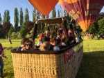 Waanzinnige luchtballon vaart boven de regio Beesd dinsdag  8 mei 2018