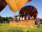 Plezierige ballonvaart opgestegen op startveld Beesd dinsdag 8 mei 2018