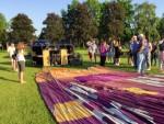 Jaloersmakende ballon vlucht opgestegen op startlocatie Doetinchem dinsdag 8 mei 2018
