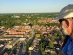 Jaloersmakende luchtballon vaart in de regio Doetinchem dinsdag 8 mei 2018