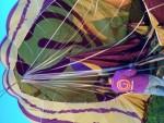 Unieke luchtballon vaart startlocatie Doetinchem dinsdag 8 mei 2018