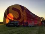Uitmuntende ballon vlucht vanaf startlocatie Doetinchem dinsdag 8 mei 2018