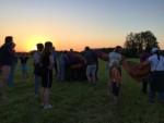 Relaxte heteluchtballonvaart in de regio Doetinchem dinsdag 8 mei 2018