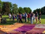 Jaloersmakende ballonvlucht omgeving Doetinchem dinsdag 8 mei 2018