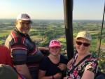 Onovertroffen luchtballonvaart gestart in Doetinchem dinsdag 8 mei 2018