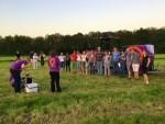 Te gekke heteluchtballonvaart omgeving Doetinchem dinsdag 8 mei 2018