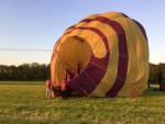 Fabuleuze heteluchtballonvaart opgestegen in Doetinchem dinsdag 8 mei 2018