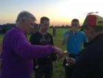 Mooie ballon vaart gestart op opstijglocatie Horst dinsdag  8 mei 2018