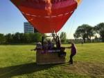 Ongekende ballon vlucht gestart op opstijglocatie Maastricht dinsdag 8 mei 2018