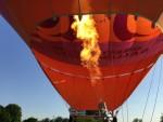 Verrassende luchtballon vaart in de buurt van Maastricht dinsdag 8 mei 2018