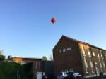 Prachtige ballon vlucht opgestegen op opstijglocatie Maastricht dinsdag 8 mei 2018
