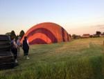 Voortreffelijke ballon vlucht opgestegen op opstijglocatie Maastricht dinsdag 8 mei 2018