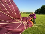 Formidabele ballon vlucht startlocatie Maastricht dinsdag 8 mei 2018
