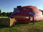 Super ballon vaart vanaf startlocatie Maastricht dinsdag 8 mei 2018