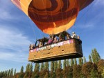 Verbluffende ballonvaart in de omgeving Beesd op dinsdag 9 oktober 2018