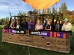 Waanzinnige heteluchtballonvaart vanaf startlocatie Beesd op dinsdag  9 oktober 2018