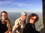 Uitmuntende ballon vaart over de regio Beesd op dinsdag  9 oktober 2018
