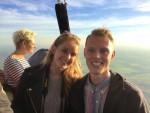 Geweldige ballon vlucht regio Beesd op dinsdag  9 oktober 2018