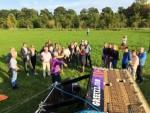 Onovertroffen luchtballonvaart omgeving Beesd op dinsdag 9 oktober 2018