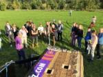 Professionele luchtballonvaart in de omgeving van Beesd op dinsdag 9 oktober 2018