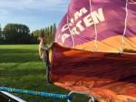 Te gekke luchtballon vaart startlocatie Beesd op dinsdag 9 oktober 2018