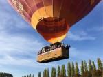 Mooie heteluchtballonvaart vanaf startlocatie Beesd op dinsdag 9 oktober 2018