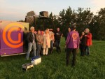 Uitmuntende luchtballonvaart opgestegen in Gorinchem op dinsdag  9 oktober 2018