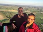 Heerlijke luchtballon vaart opgestegen op startlocatie Beesd op donderdag 13 september 2018